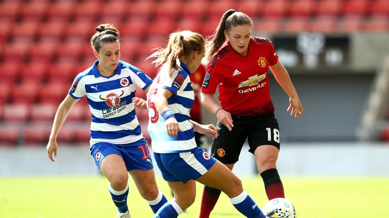 Manchester United lost to Reading in the Continental Cup in August