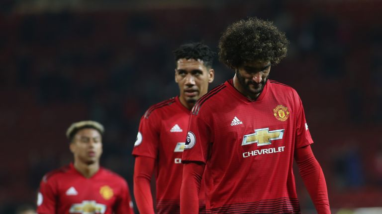 Manchester United players reflect on the 3-0 defeat to Tottenham