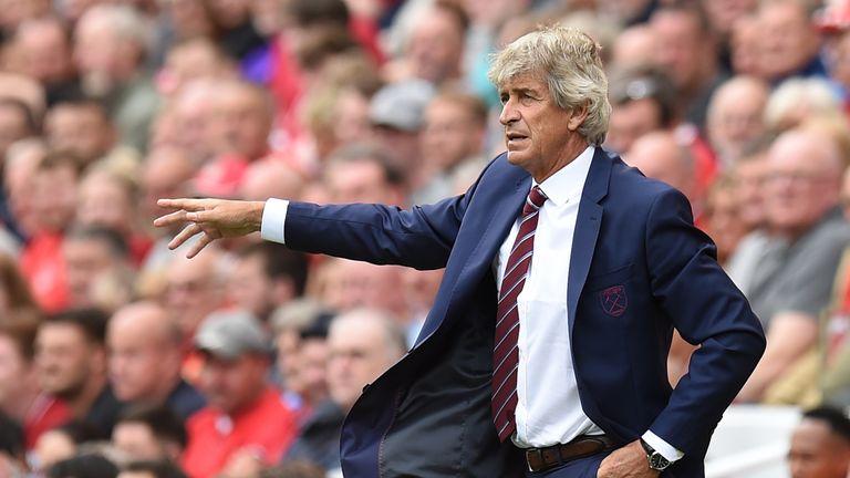Manuel Pellegrini has led West Ham to 13th in the Premier League table