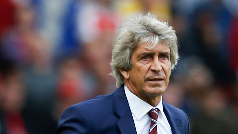 Manuel Pellegrini took charge at West Ham this summer