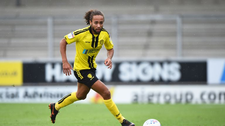 Marcus Harness, 22, has extended his stay with Burton  until June 2020 after graduating from their academy