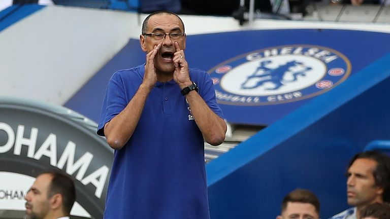 Maurizio Sarri will be looking to conquer Europe with Chelsea
