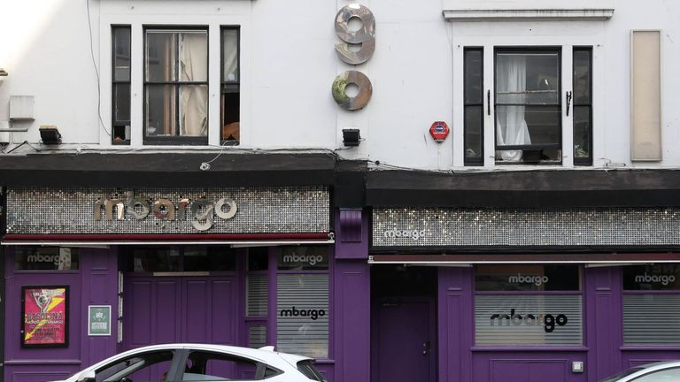 The altercation started outside Mbargo nightclub in Bristol last September