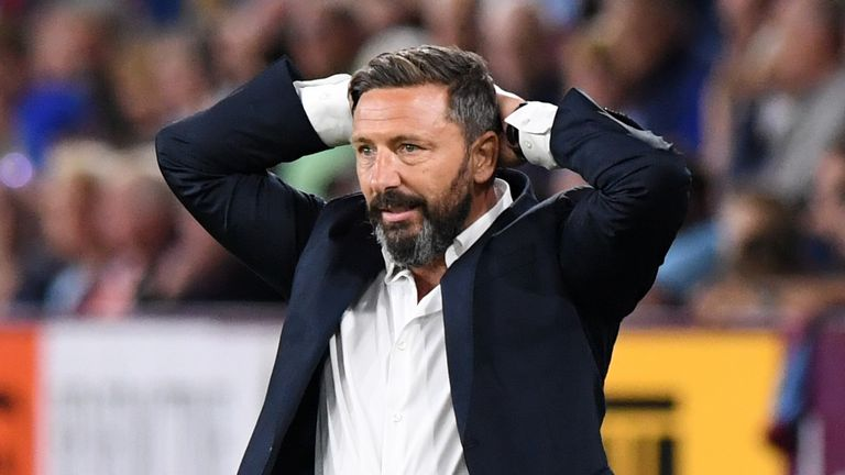 Derek McInnes' side face St Johnstone this weekend