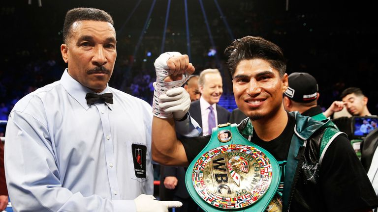 Mikey Garcia must decide whether to defend WBC lightweight belt