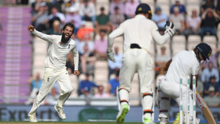 Moeen played a starring role as England wrapped up a 4-1 series victory over India