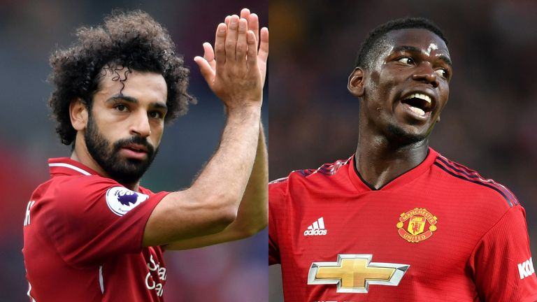 Mohamed Salah Paul Pogba Manchester United Liverpool