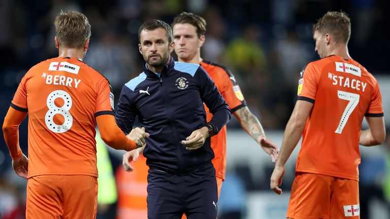 Luton Town manager Nathan Jones helped transform the club to League One promotion contenders