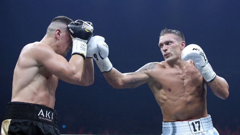 Usyk could reportedly face Denis Lebedev instead