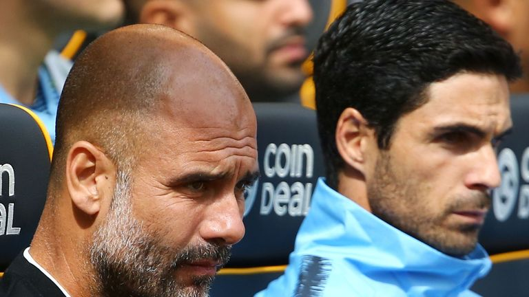 Pep Guardiola hopes to steer City to a second successive title