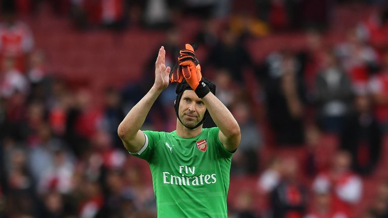 Petr Cech was named captain for Unai Emery's first Premier League game in charge of Arsenal