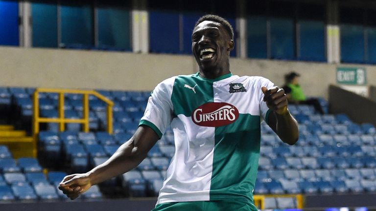 Freddie Ladapo put Plymouth 2-1 up