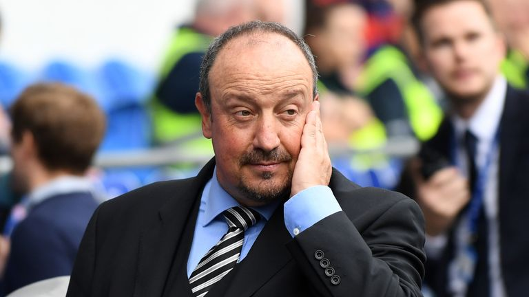Benitez came under criticism after Newcastle registered 19 per cent possession in the 2-1 loss to Chelsea