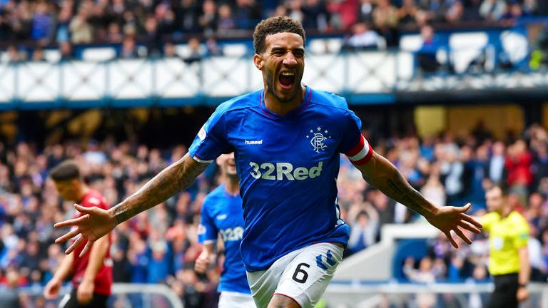 Connor Goldson scored Rangers' second in their win over St Mirren