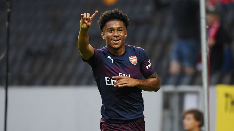 Reiss Nelson followed in Jadon Sancho's footsteps by heading to the Bundesliga