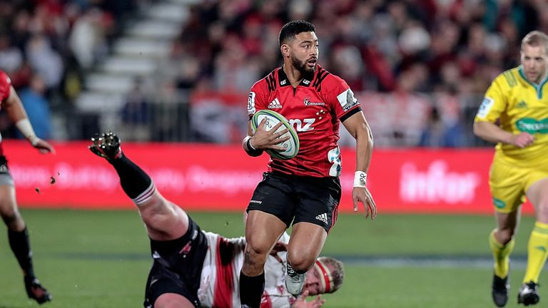 Richie Mo'unga produced another man of the match performance for the Crusaders