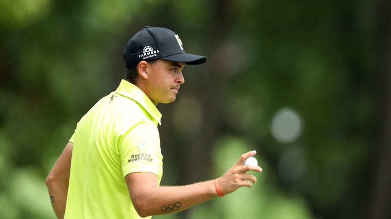 Fowler wore a bright yellow shirt in tribute to Jarrod Lyle