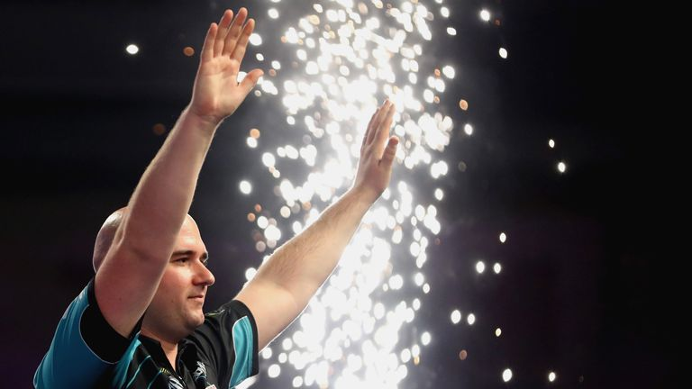 Rob Cross claimed the world title on his Alexandra Palace debut in January