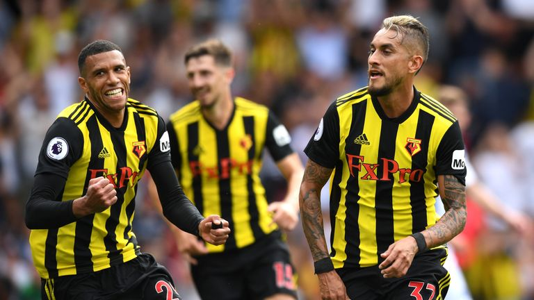Roberto Pereyra was Watford's match-winner