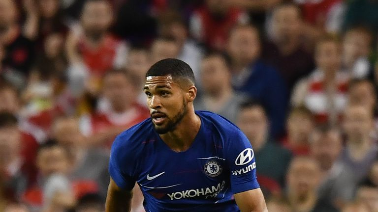 Ruben Loftus-Cheek picked up a shin injury with England