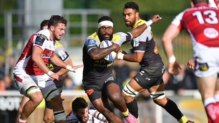 Fijian backrow Levani Botia will continue to be a threat for La Rochelle