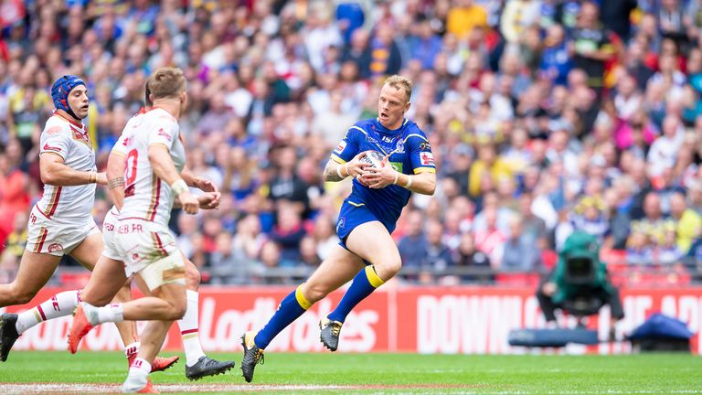 Leigh seal Kevin Brown signing on loan from Warrington  | Rugby League News |