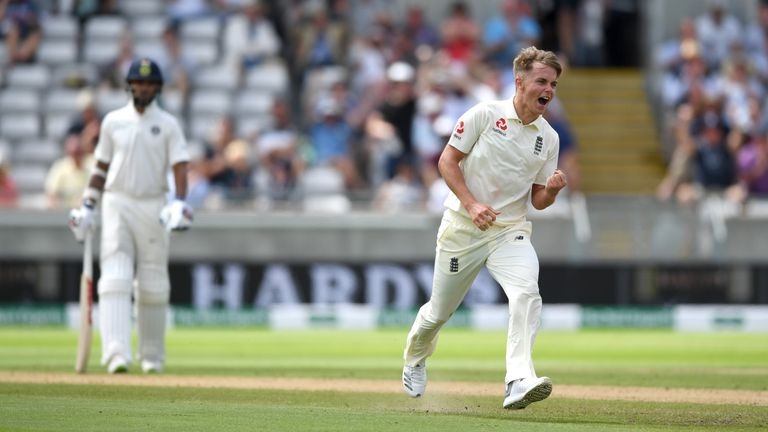 Sam Curran was man of the match in the first Test of the series