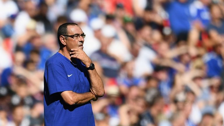Maurizio Sarri has some big decisions to make at Chelsea this season