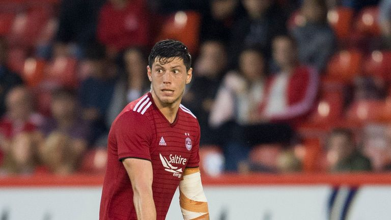 Aberdeen reject another bid for rated defender Scott McKenna