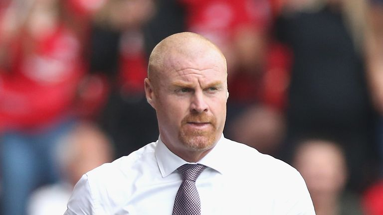 Sean Dyche admits Burnley struggled in the summer transfer window