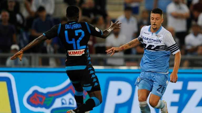 Sergej Milinkovic-Savic was strongly linked with a move to England this summer