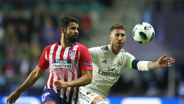 Diego Costa left Chelsea for Atletico Madrid in September 2017