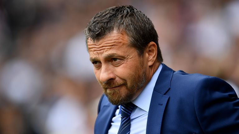 Slavisa Jokanovic prior to the Premier League match between Fulham and Crystal Palace at Craven Cottage
