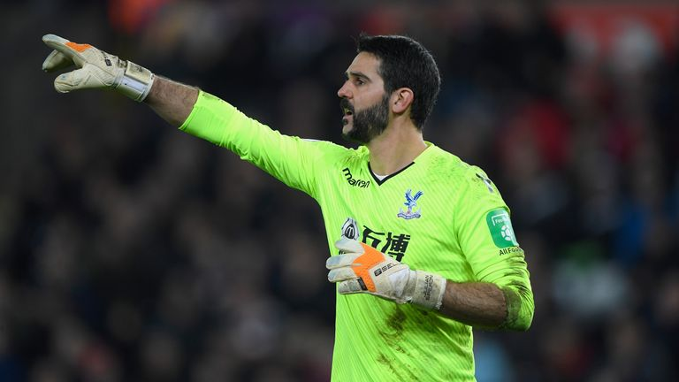 Speroni was named Palace player of the season four times