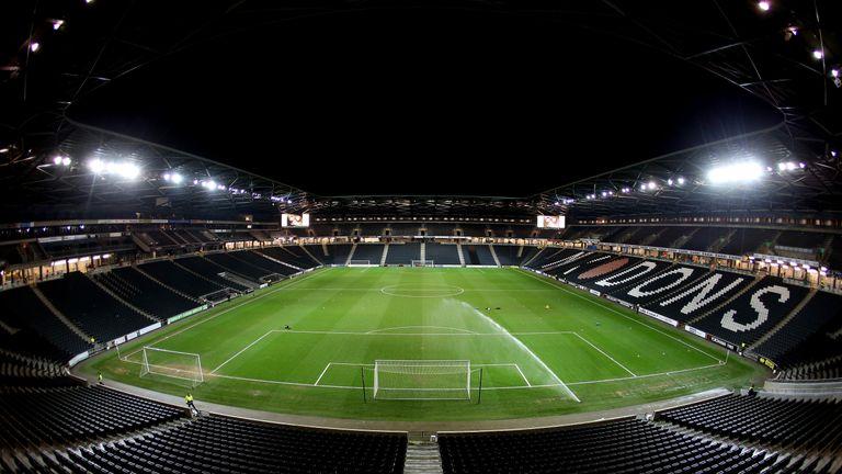 Stadium MK has a capacity of 30,500