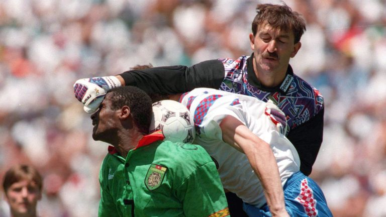Stanislav Cherchesov represented his country at the 1994 World Cup