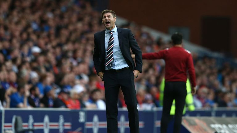 Steven Gerrard wants opposing teams to fear playing at Ibrox