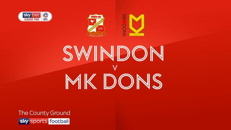 mk dons v swindon betting