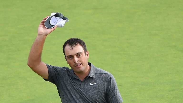 Francesco Molinari tops both the European Points List and the World Points List