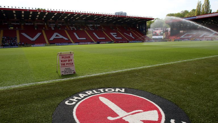 A general view of The Valley, Charlton Athletic Football Club, May 2016