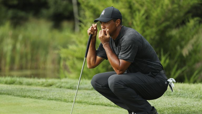 Woods hasn't played in the FedExCup Play-Offs since 2013