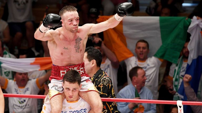 TJ Doheny was crowned as IBF champion after defeating Ryosuke Iwasa