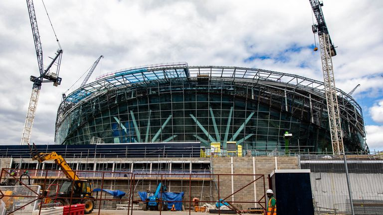 Tottenham stadium delay down to 'faulty wiring', says Mace
