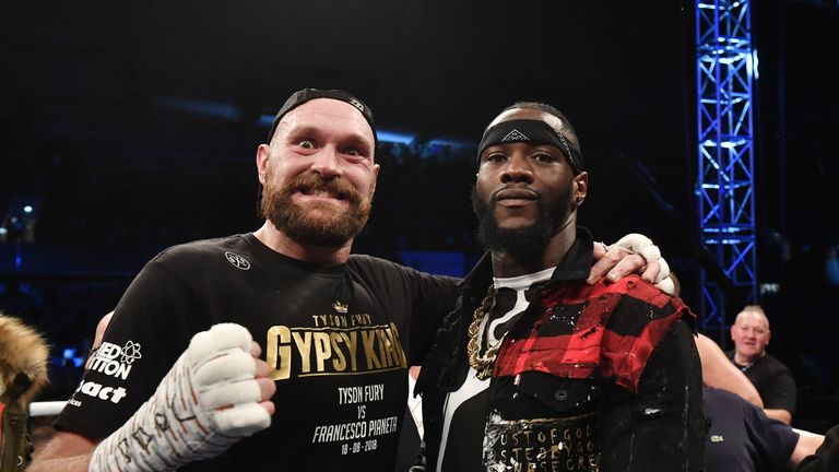 Wilder plans to fight Fury next