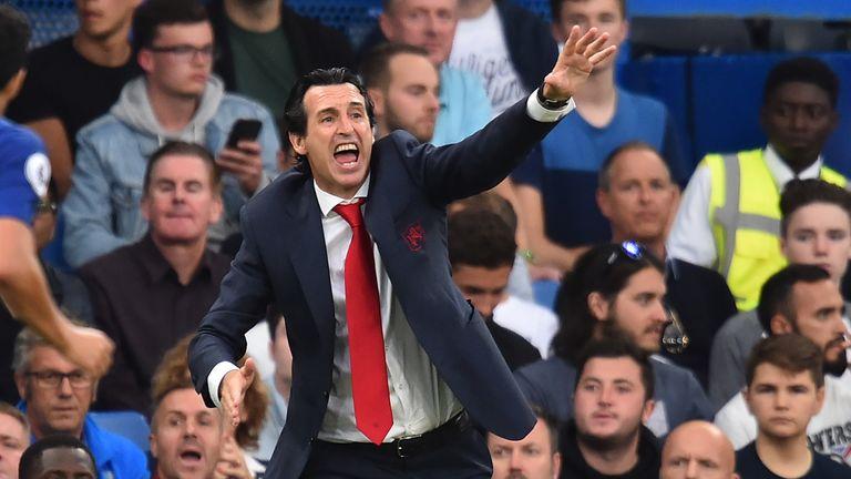 Unai Emery Arsenal Chelsea