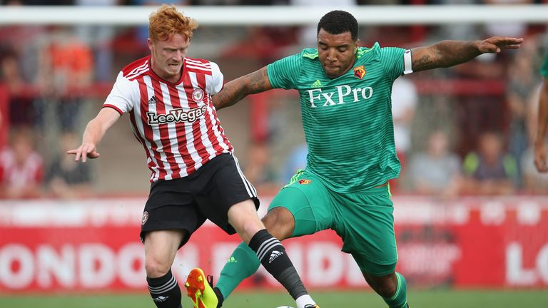 Troy Deeney is likely to remain at Vicarage Road