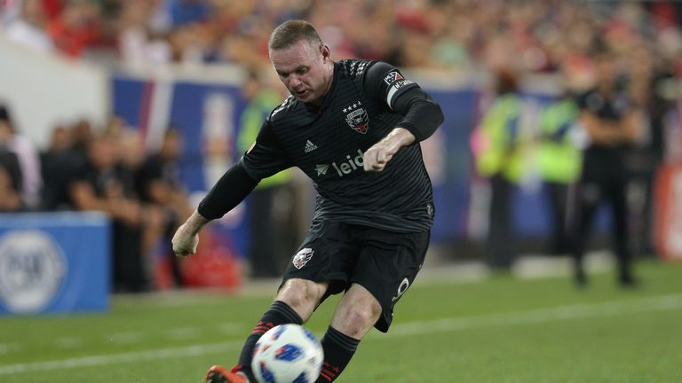 Wayne Rooney couldn't add to his tally since joining DC United