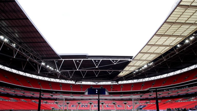 Spurs have been forced back to Wembley for at least three Premier League home games
