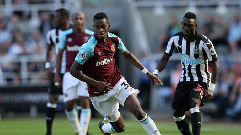 Edmilson Fernandes has made 48 appearances for West Ham since joining in 2016