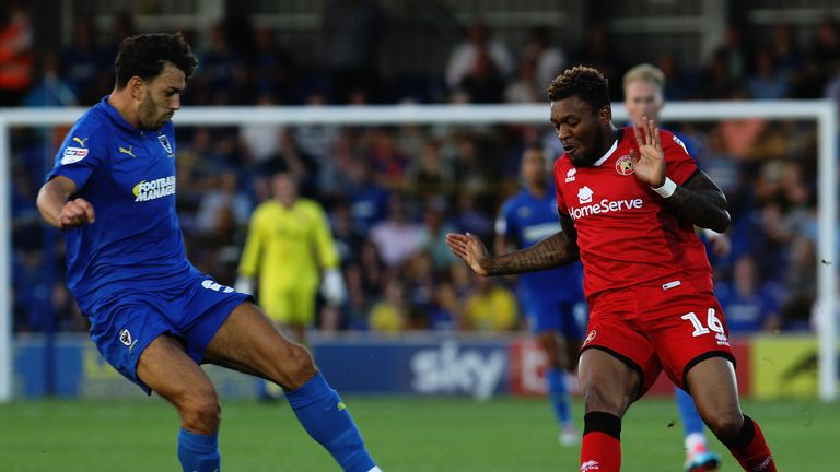 Will Nightingale and his AFC Wimbledon team-mates will come up against West Ham at Kingsmeadow